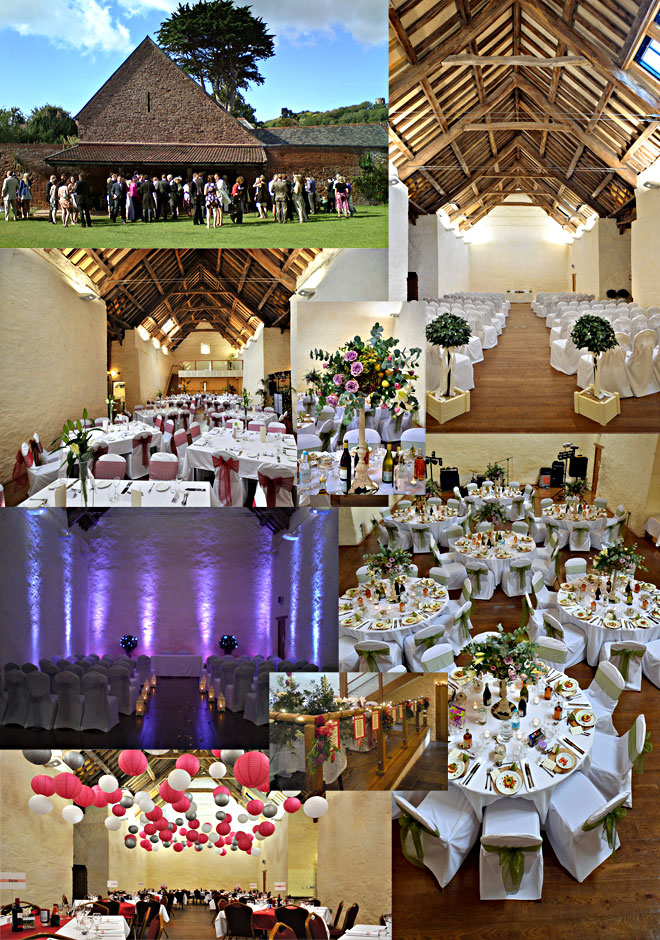 Weddings at Dunster Tithe Barn